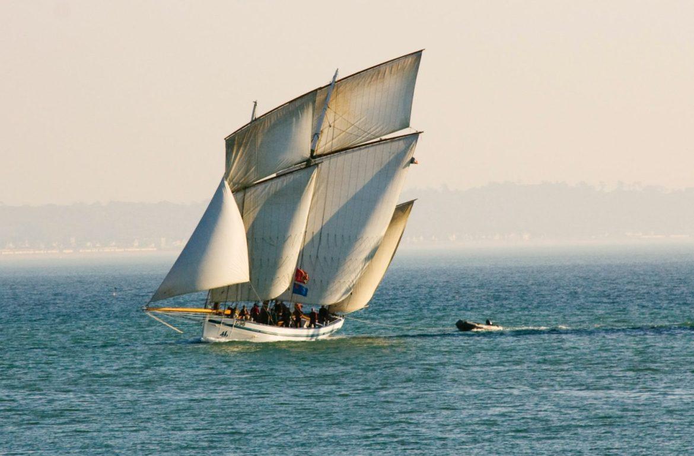 bateau à voile - Trinquette
