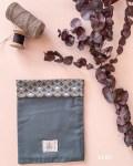Pochettes à livre en coton bio - Coloris Vert - Trinquette Artisanat