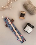 Pochette brosse à dents - Coloris 1 -Trinquette Artisanat.