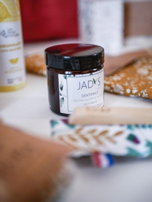 Dentifrice Jadys - Box zéro déchets