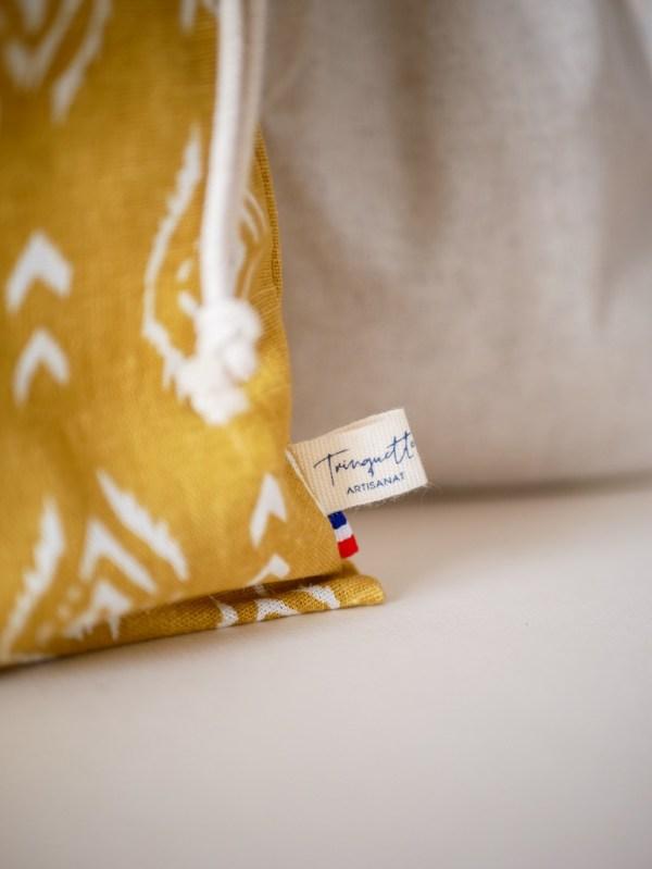 Sacs à vrac en lin et coton - Trinquette Artisanat