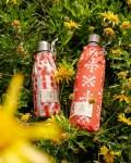 Duo de bouteilles isothermes Qwetch & pochette de transport - champs