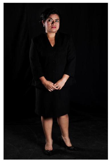 Karina Meneses, actriz y directora de teatro de origen xalapeño.