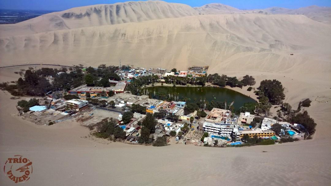 Laguna Huacachina (Ica - Perú - América)