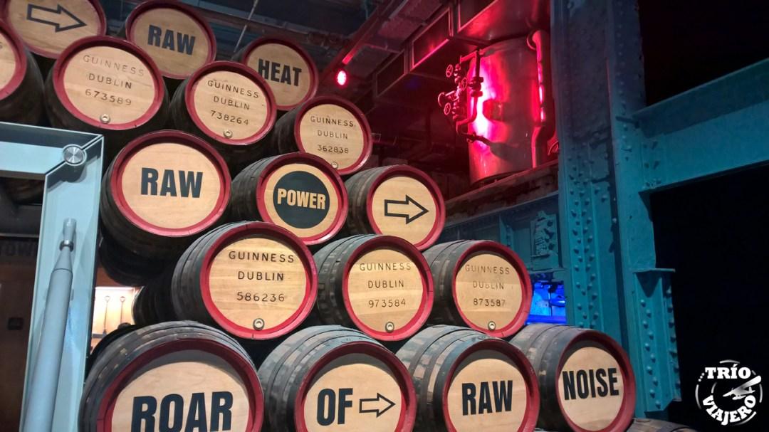 Guinness Storehouse (Dublín - Irlanda - Europa) ⋆ Trio Viajero