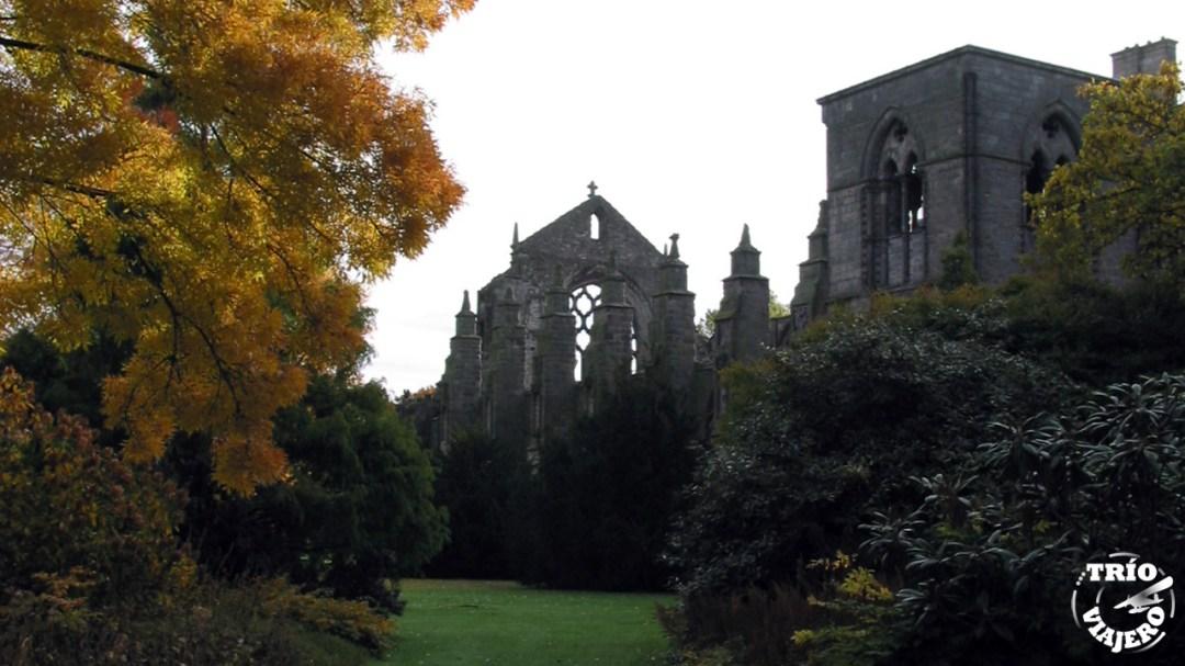 Abadía de Holyrood (Edimburgo - Escocia - Europa) ⋆ Trio Viajero