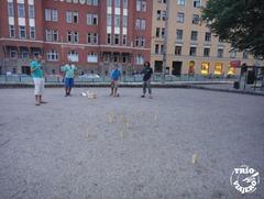 Jugando mölkky, Helsinki, Finlandia