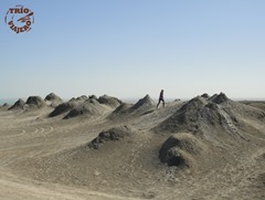 Volcanes de barro, Gobustán, Azerbaiyán