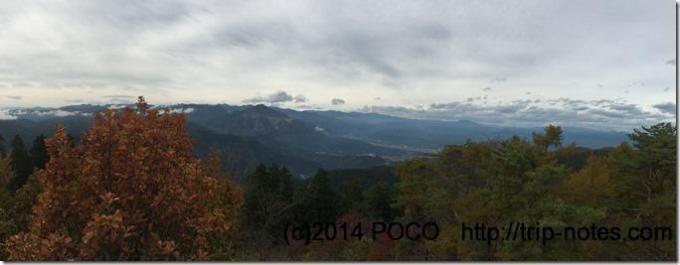 丸山からの景色