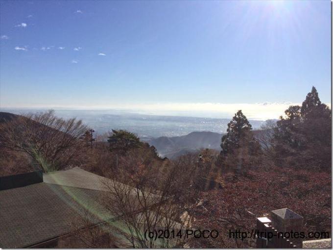 大山下社からの景色
