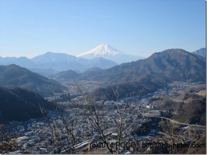 岩殿山からの富士山