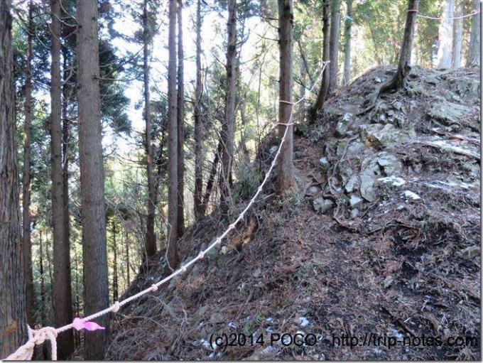 高松山ロープ