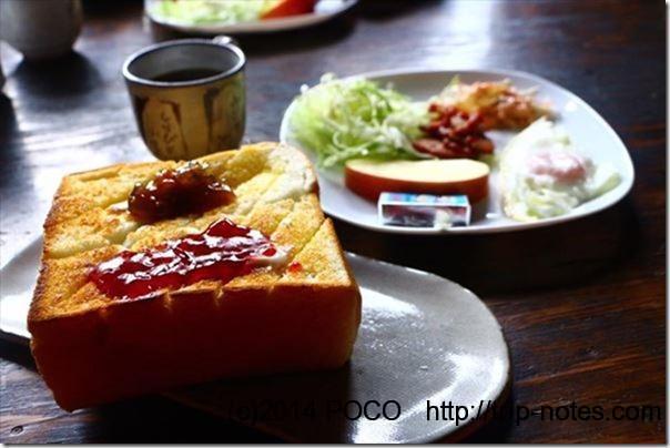 しらびそ小屋朝食のパン