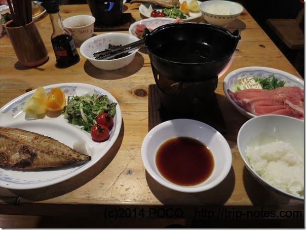 赤岳鉱泉夕食