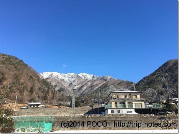 稲村神社から滝子山