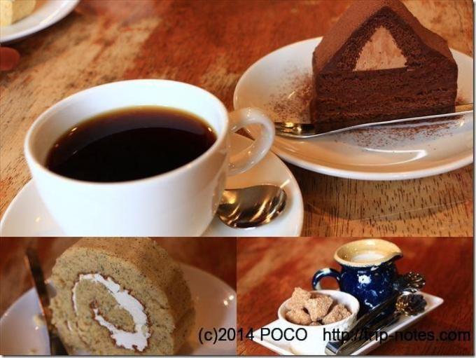 美麻コーヒーとケーキ_R