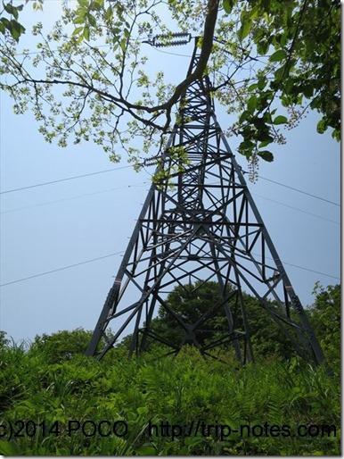 西黒尾根鉄塔