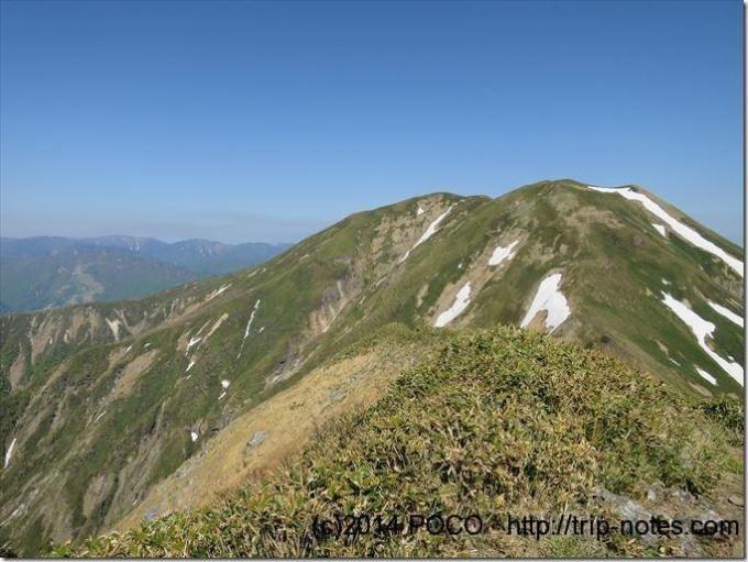 仙ノ倉山と平標山