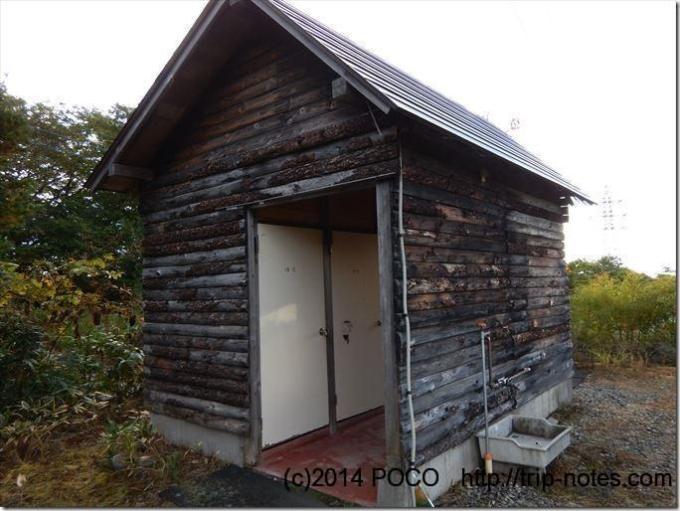 草津オートキャンプ場トイレ