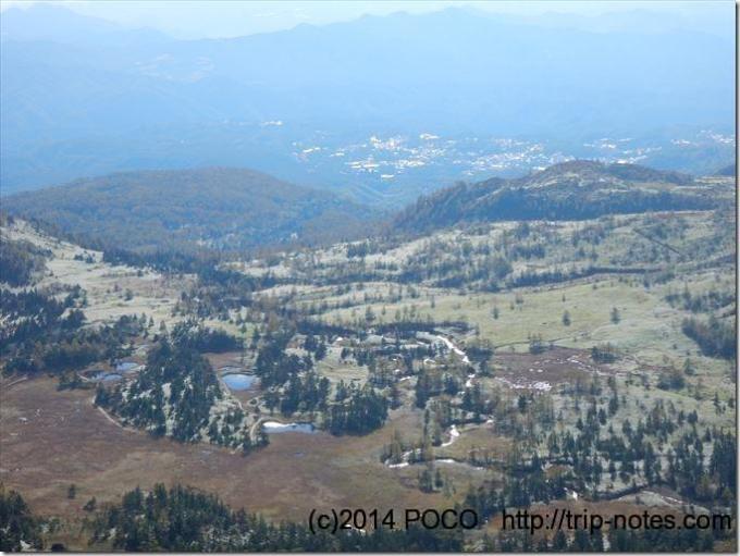 日本国道最高地点からの眺望