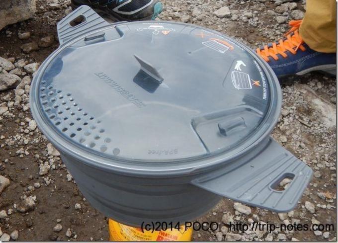 シートゥーサミットの鍋