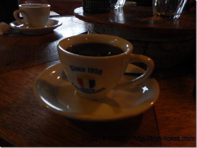 ころぼっくるヒュッテのコーヒー