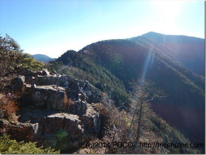 地蔵岩展望台