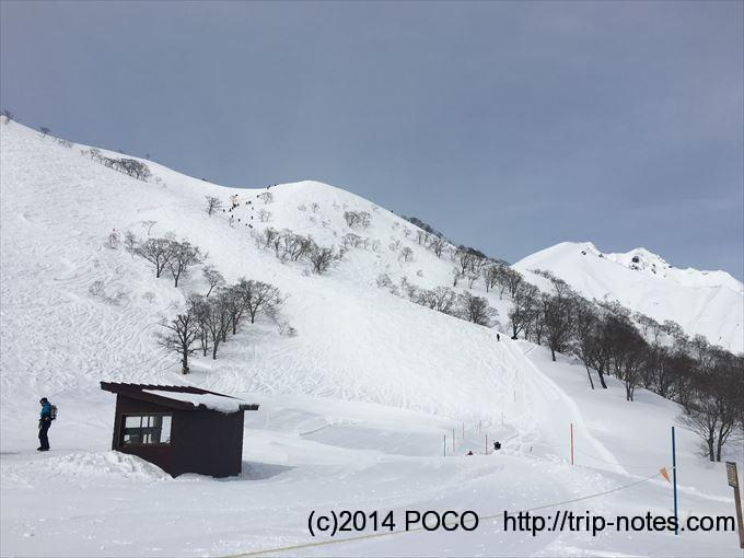 雪山の天神平