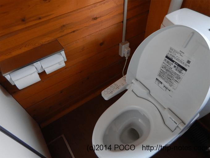 高谷池ヒュッテのトイレ