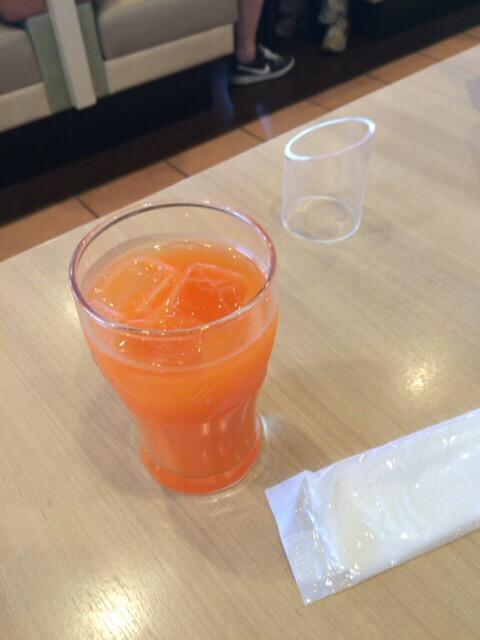 ガストの野菜ジュース