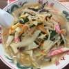 京都北白川ラーメン魁力屋で野菜たっぷりタンメン