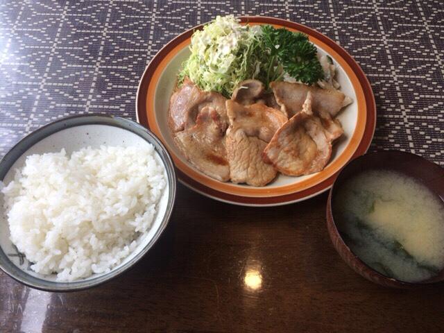 イデウラ 豚肉の生姜焼き