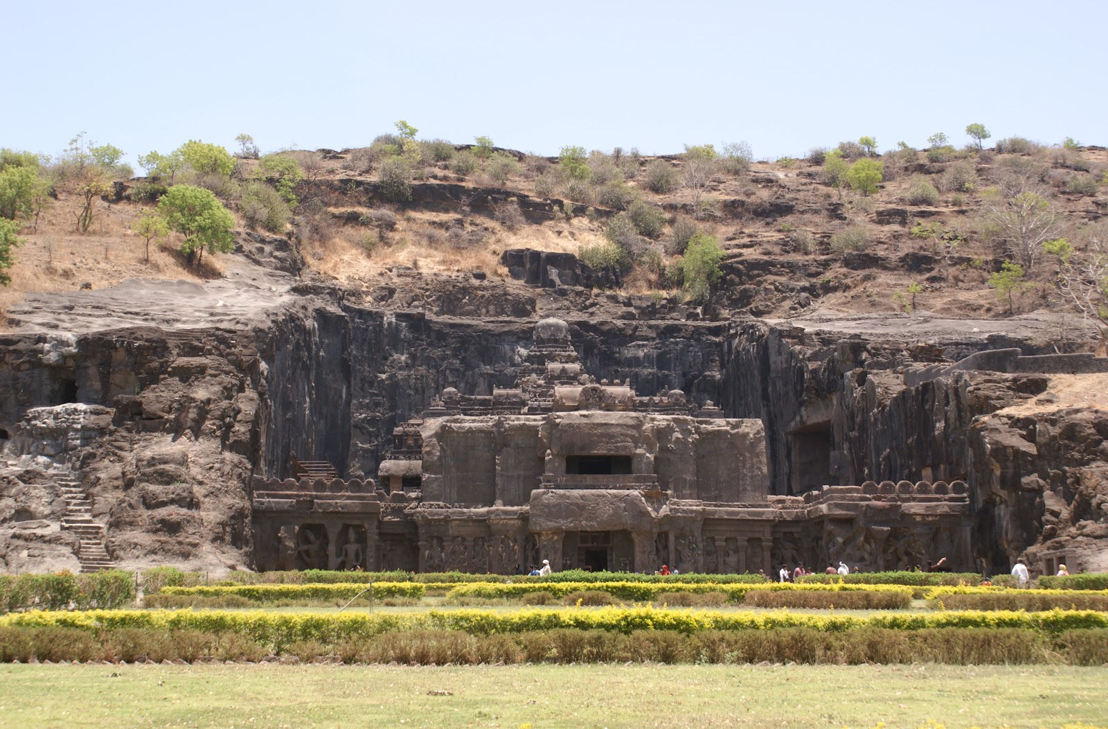 The Shrine of Ellora, in India