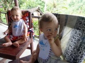 Dans un warung à Bali