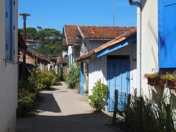village de l'herbe - cap ferret-