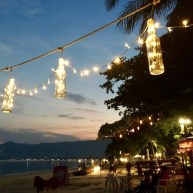 Chaweng beach, Koh Samui, le temps d'un cocktail...