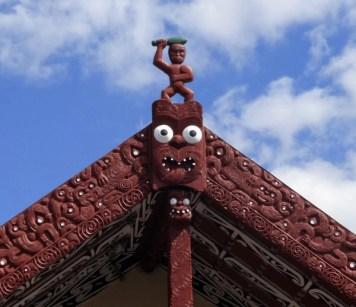 living maori village, Nouvelle Zélande