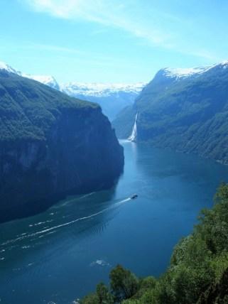 Geiranger fjord, Norvège