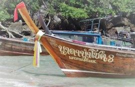 long tail boat, Thaïlande