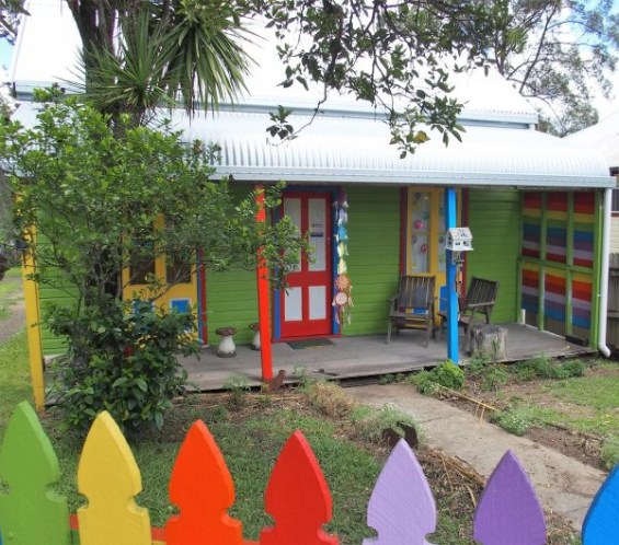 rainbow cottage, Nimbin