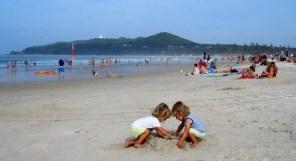 plage de Byron Bay