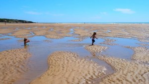 plage du veillon a maree basse