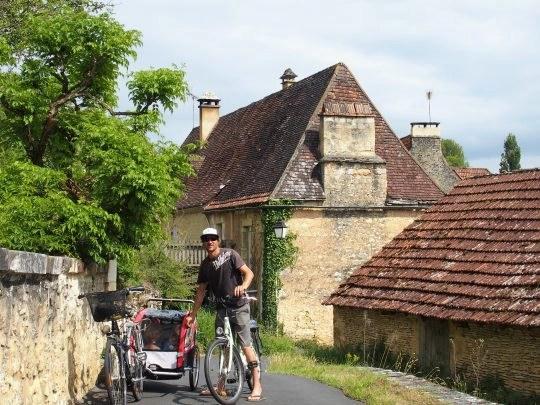 piste cyclable Castelnaud la chapelle, Perigord