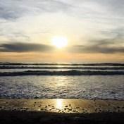 sunset plage de vertbois - ile d oleron