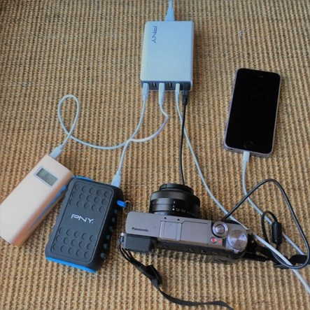 multi usb chargeur PNY