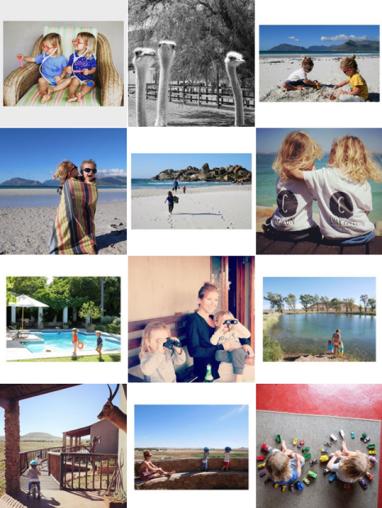 instagram voyage avec enfants