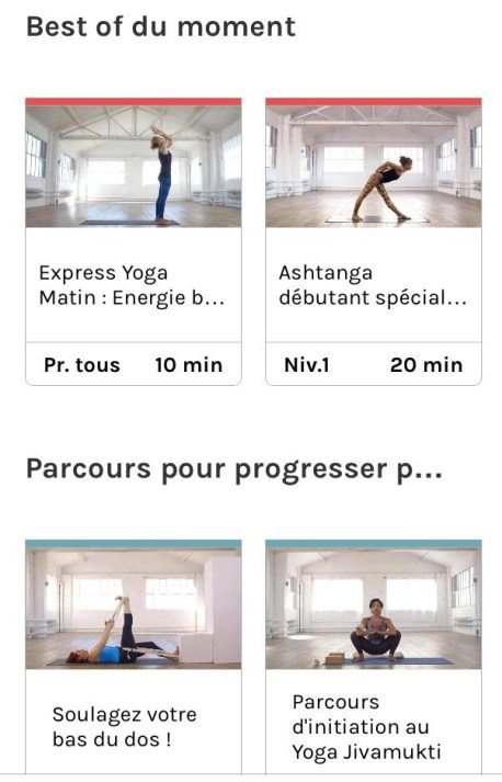 appli yoga play