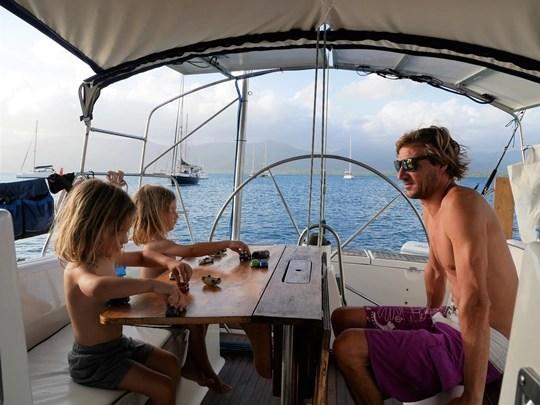 iles san blas en famille en voilier