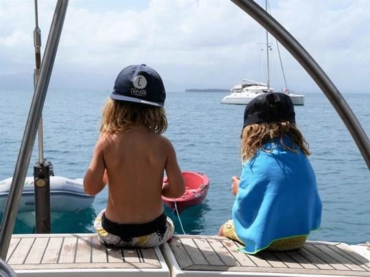 voilier avec enfants iles san blas