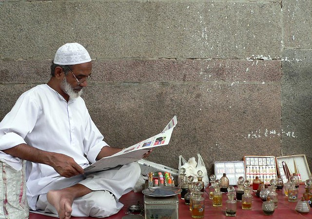 Ittar at charminar bazaar